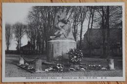 10 : Nogent-sur-Seine - Monument Aux Morts 1914-1918 - Guerre / Militaria - (n°12958) - Nogent-sur-Seine