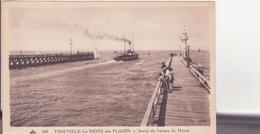 CPA - 646. TROUVILLE Sortie Du Bateau Du Havre - Trouville