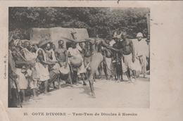 COTE D'IVOIRE TAM-TAM DE DIOULAS A KOROKO - Ivory Coast