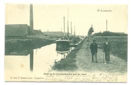St Leonards - Zicht Op De Steenbakkerijen Aan De Vaart - Hoelen 1117 - Brecht