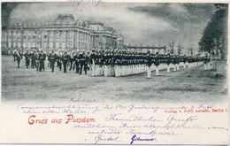 Gruss Aus Potsdam - Revue - Incunable : 1898   (905 ASO) - Königshäuser