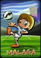 FOOTBALL - SPAGNA 2018 - CALENDARIO TASCABILE - MALAGA - CROMOLANDIA2010 - Soccer