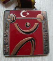 AC - TURKISH WEIGHTLIFTING FEDERATION BRONZE MEDAL - MEDALLION - Sports