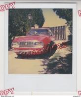Au Plus Rapide Photo Polaroïd Années 70 Voiture Ancienne Lancia Zagato 1970 Très Bon état - Cars