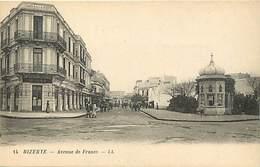 Pays Div : Ref M175- Tunisie - Bizerte - Avenue De France - Carte Bon Etat - - Tunisie