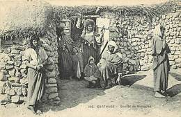 Pays Div : Ref M174- Tunisie - Carthage - Nomades  - Carte Bon Etat - - Tunisie