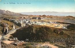 Pays Div : Ref M171- Tunisie - Carthage - Fouilles - Photographe Lehnert Et Landrock Tunis  - Carte Bon Etat - - Tunisie