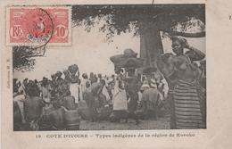 COTE D'IVOIRE TYPES INDIGENES DE LA REGION DE KOROKO - Ivory Coast
