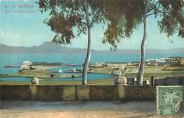 Pays Div : Ref M166- Tunisie - Carthage -les Anciens Ports -photographe Lehnert Et Landrock   - Carte Bon Etat - - Tunisie