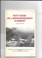 Petit Guide De L'arrondissement D'ambert  - Michel Boy 1984 - Turismo