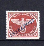 Deutsches Reich INSELPOST  Agramer Aufdruck Mi Nr.2   *  Erstfalz    (  X   2174  ) - Germany