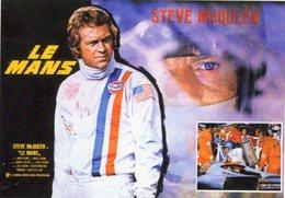 Steve McQueen  -  Porsche 917  -  Le Mans Le Film  -  Carte Moderne  - CPM - Le Mans