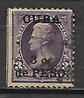 C U B A   -   1899 .  Y&T N° 139 Oblitéré.  Surchargé - Cuba