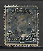 C U B A   -   1899 .  Y&T N° 140 Oblitéré.  Surchargé - Cuba