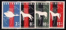 SURINAM, SET, NO.'S B90-B93, MNH - Surinam