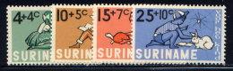 SURINAM, SET, NO.'S B116-B119, MNH - Surinam