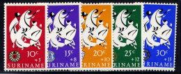 SURINAM, SET, NO.'S B122-B126, MNH - Surinam