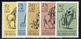 SURINAM, SET, NO.'S B132-B136, MNH - Surinam