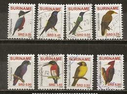 Surinam 2008 Oiseaux Birds Obl - Surinam