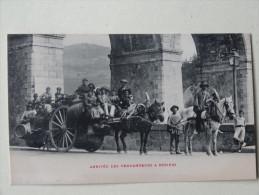Beziers Herault  Arrivee Des Vendangeurs 1909 - Beziers