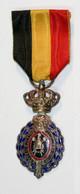 Médaille Belge Du Travail 2de Classe_01_FR-NL - Professionali / Di Società
