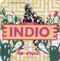 Lote M13, Mexico, Posavaso, Coaster, Indio, Barrios - Beer Mats