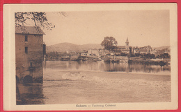 CPA-46- CAHORS - Faubourg CABESSUT *SUP  **2 SCANS - Cahors