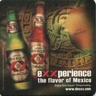 Lote M14, Mexico, Posavaso, Coaster, Dos Equis, Experience - Beer Mats