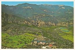 Colorado Colorado Springs Broadmoor Resort Complex Aerial View - Colorado Springs