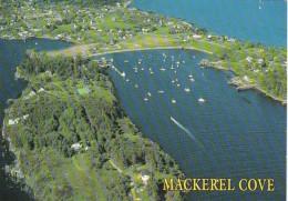 Maine Mackeral Cove Aerial View - United States