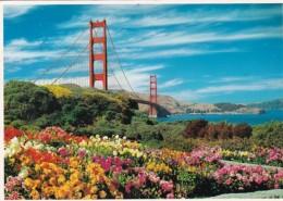 California San Francisco Golden Gate Bridge Entrance - San Francisco