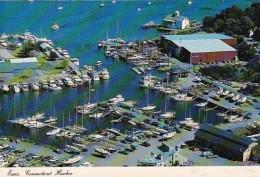 Connecticut Essex Aerial View Of Essex Harbor - United States
