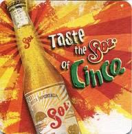 Lote M15, Mexico, Posavaso, Coaster, Sol, Cinco - Beer Mats