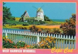 Massachusetts Cape Cod West Harwich Windmill - Cape Cod