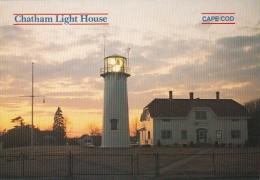 Massachusetts Cape Cod Chatham Lighthouse & Coast Guard Station - Cape Cod
