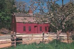 Massachusetts Old Sturbridge Village Freeman Farm And Apple Blossoms - United States