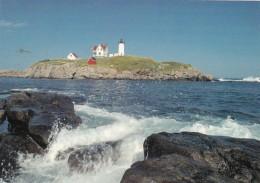 Maine Cape Neddick Nubble Lighthouse - United States
