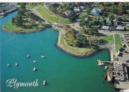 Massachusetts Plymouth Aerial Panoramic View - United States