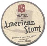 Lote U1, Uruguay, Posavaso, Coaster, Mastra, American Stout - Portavasos