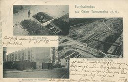 004994  Turnhallenbau Des Kieler Turnvereins  1910 - Kiel