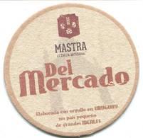 Lote U2, Uruguay, Posavaso, Coaster, Mastra, Del Mercado - Portavasos