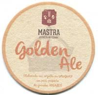 Lote U4, Uruguay, Posavaso, Coaster, Mastra, Golden Ale - Portavasos