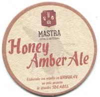 Lote U6, Uruguay, Posavaso, Coaster, Mastra, Honey Amber Ale - Portavasos