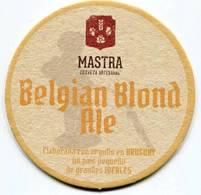 Lote U7, Uruguay, Posavaso, Coaster, Mastra, Belgian Blond Ale - Portavasos