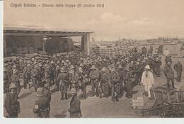 433-Tripoli-Libia-Africa-ex Colonie Italiane-Militaria-Guerra Italo-Turca-Sbarco Delle Truppe-11-10-1911 - Libya