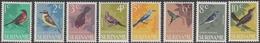 Suriname 1966 - Definitive Stamps Set: Birds - Mi 484-491 ** MNH - Surinam ... - 1975