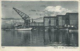 004996  Kiel - Partie An Der Germania Werft  1941 - Kiel