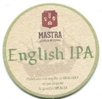 Lote U9, Uruguay, Posavaso, Coaster, Mastra, English IPA - Portavasos