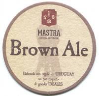 Lote U11, Uruguay, Posavaso, Coaster, Mastra, Brown Ale - Portavasos