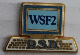 ORDINATEUR - PC - ORDI - WSF2 - R.S.D. - CLAVIER - ECRAN - ARTHUS BERTRAND PARIS -                 (12) - Computers